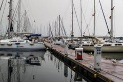 Μαρίνα Pendik και μεταφορά θάλασσας - Τουρκία Στοκ Φωτογραφία