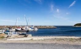 Μαρίνα riviere-Madeleine Gaspesie Κεμπέκ Καναδάς Στοκ εικόνα με δικαίωμα ελεύθερης χρήσης