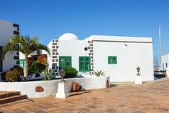 Μαρίνα Rubicon στο BLANCA Playa, Lanzarote Στοκ Φωτογραφίες