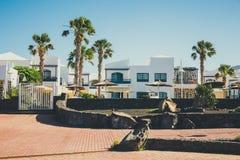Μαρίνα Rubicon στο BLANCA Playa, Lanzarote Στοκ φωτογραφίες με δικαίωμα ελεύθερης χρήσης