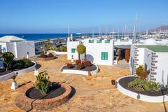 Μαρίνα Rubicon στο BLANCA Playa, Lanzarote Στοκ εικόνες με δικαίωμα ελεύθερης χρήσης
