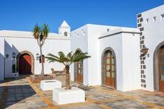 Μαρίνα Rubicon στο BLANCA Playa, Lanzarote Στοκ Εικόνα
