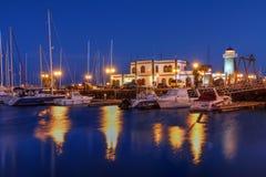 Μαρίνα Rubicon, Lanzarote, Ισπανία Στοκ φωτογραφία με δικαίωμα ελεύθερης χρήσης
