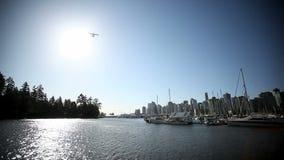 Μαρίνα Waterplane flyover φιλμ μικρού μήκους