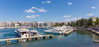 Μαρίνα Zeas, Πειραιάς, Ελλάδα Στοκ εικόνα με δικαίωμα ελεύθερης χρήσης
