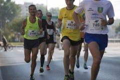 1/2 μαραθώνιος Πράγα 2016 †«Κενυάτες ο γρηγορότερα στη Βαρσοβία Στοκ Φωτογραφία