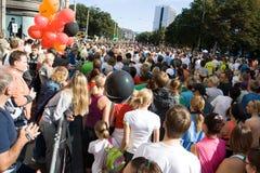 μαραθώνιος Ταλίν Στοκ εικόνες με δικαίωμα ελεύθερης χρήσης