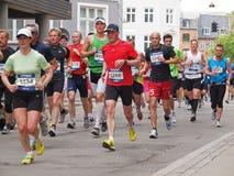 μαραθώνιος της Κοπεγχάγ&et Στοκ Εικόνα