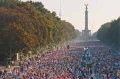 μαραθώνιος του Βερολίν&omic Στοκ εικόνα με δικαίωμα ελεύθερης χρήσης