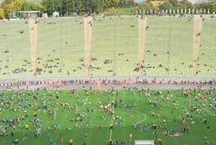 Μαραθώνιος του Μόναχου Στοκ φωτογραφία με δικαίωμα ελεύθερης χρήσης