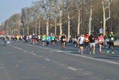 Μαραθώνιος de Παρίσι Στοκ εικόνα με δικαίωμα ελεύθερης χρήσης