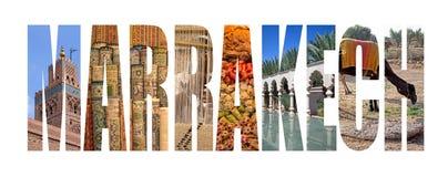 Μαρακές Στοκ εικόνα με δικαίωμα ελεύθερης χρήσης