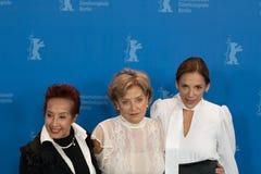 Μαργαρίτα θληρu'ν, Ana Brun και Ana Ivanova σε Berlinale 2018 Στοκ εικόνες με δικαίωμα ελεύθερης χρήσης