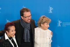 Μαργαρίτα θληρu'ν, Marcelo Martinessi και Ana Brun Στοκ εικόνα με δικαίωμα ελεύθερης χρήσης