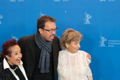 Μαργαρίτα θληρu'ν, Marcelo Martinessi και Ana Brun Στοκ φωτογραφίες με δικαίωμα ελεύθερης χρήσης
