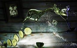 Μαργαρίτα Deconstructed Στοκ φωτογραφία με δικαίωμα ελεύθερης χρήσης