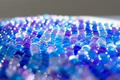 Μαργαριτάρια γυαλιού Στοκ Φωτογραφίες