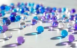 Μαργαριτάρια γυαλιού Στοκ Εικόνες