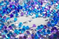 Μαργαριτάρια γυαλιού Στοκ Εικόνα