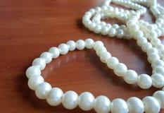 Μαργαριτάρια μαργαριταριών, κόσμημα για τις γυναίκες Στοκ Εικόνα