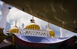 μαργαριτάρια μουσουλμ&alph στοκ φωτογραφία