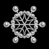μαργαριτάρι νιφάδων Στοκ Φωτογραφίες