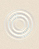 μαργαριτάρι waterdrop Στοκ εικόνες με δικαίωμα ελεύθερης χρήσης