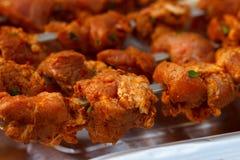 Μαριναρισμένο κρέας χοιρινού κρέατος Στοκ Εικόνες