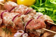 μαριναρισμένο κρέας Στοκ φωτογραφία με δικαίωμα ελεύθερης χρήσης