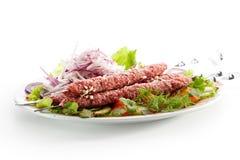 μαριναρισμένο κρέας Στοκ Εικόνα