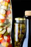μαριναρισμένο λαχανικό Στοκ Εικόνες