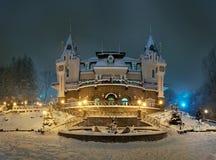 Μαριονέτα-επίδειξη παλατιών στοκ εικόνα με δικαίωμα ελεύθερης χρήσης