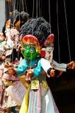 μαριονέτα Νεπάλ στοκ εικόνες