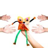 μαριονέτα χεριών Στοκ φωτογραφία με δικαίωμα ελεύθερης χρήσης