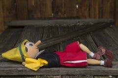 μαριονέτα Στοκ φωτογραφία με δικαίωμα ελεύθερης χρήσης