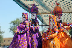 Μαριονέτες Ινδία Στοκ Εικόνες