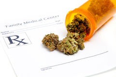 μαριχουάνα ιατρική στοκ φωτογραφία