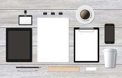Μαρκάροντας επιχειρησιακό πρότυπο προτύπων με το smartphone Στοκ φωτογραφία με δικαίωμα ελεύθερης χρήσης