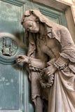 Μαρμάρινα αγάλματα στο νεκροταφείο Στοκ Εικόνα