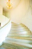 μαρμάρινα σκαλοπάτια Στοκ Εικόνες