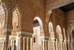 Μαρμάρινες αψίδες, Alhambra παλάτι Στοκ εικόνες με δικαίωμα ελεύθερης χρήσης