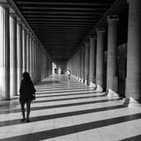Μαρμάρινες στήλες ανθρώπων Στοκ Εικόνα