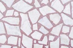 Μαρμάρινη άσπρη και κόκκινη σύσταση Στοκ Φωτογραφίες