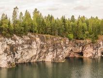 Μαρμάρινη λίμνη Στοκ εικόνα με δικαίωμα ελεύθερης χρήσης