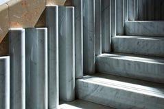 μαρμάρινη σκάλα Στοκ Εικόνες