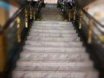 Μαρμάρινη σκάλα Στοκ εικόνες με δικαίωμα ελεύθερης χρήσης