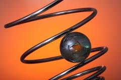 μαρμάρινη σπείρα στοκ φωτογραφία