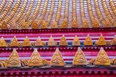 Μαρμάρινη στέγη ναών Στοκ Εικόνες