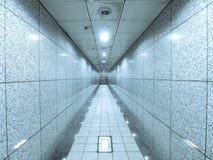 Μαρμάρινοι τοίχος και πέρασμα Στοκ φωτογραφία με δικαίωμα ελεύθερης χρήσης