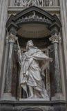 Μαρμάρινος απόστολος αγαλμάτων του Ιησού ο απόστολος του ST James το Gre στοκ εικόνα με δικαίωμα ελεύθερης χρήσης
